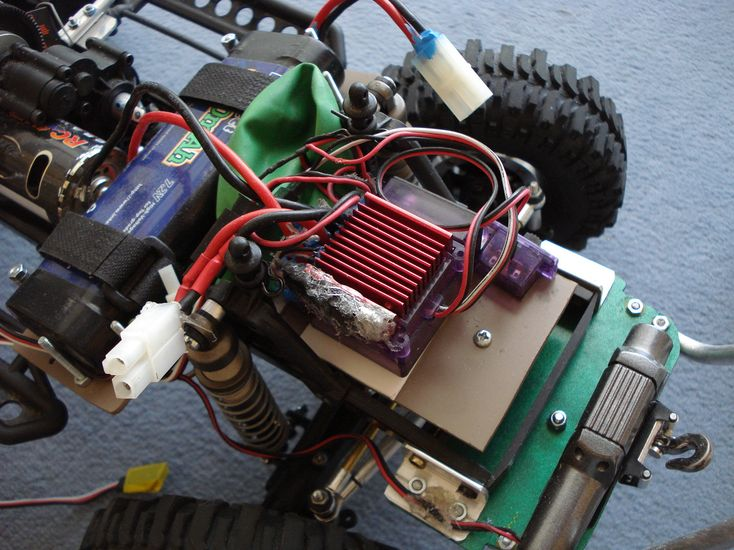SCX10 Axial - Projet Ford F100 1966. DSC04424